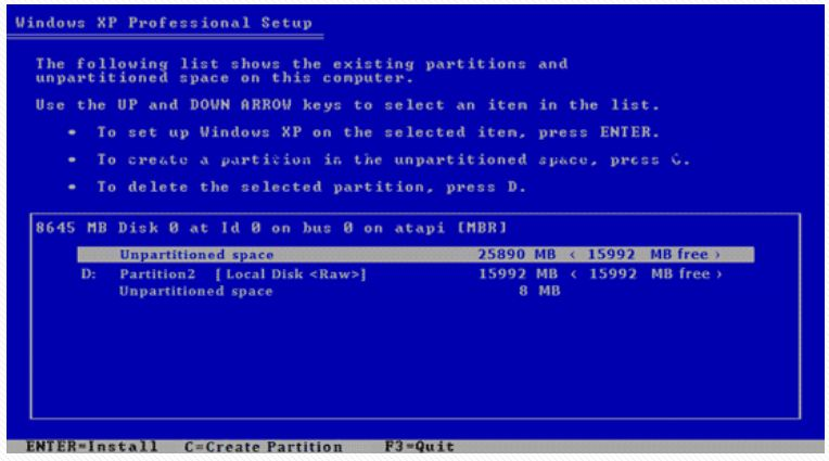 langkah-langkah instalasi windows xp beserta gambarnya ...