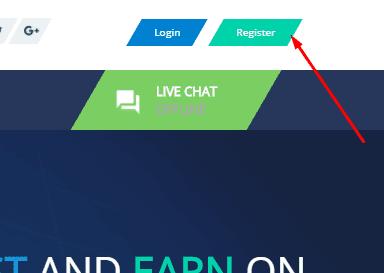Регистрация в Crypto Center