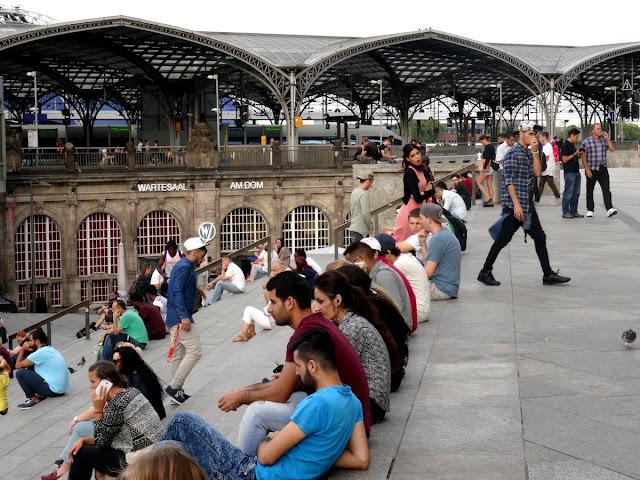 Cologne Train Station Hauptbahnhof