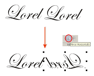 Cara Mudah Membuat Ornamen di CorelDRAW dengan Memanfaatkan Teks/Font