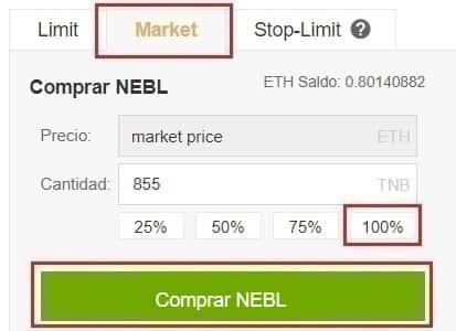 Comprar Neblio (NEBL) Tutorial Paso a Paso