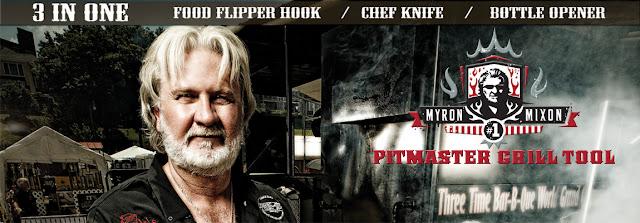 Ergo Chef/Myron Mixon Pitmaster Grill Set