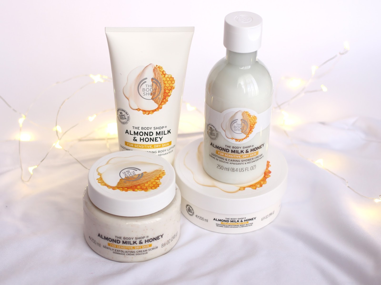 The Body Shop Almond Milk & Honey Range