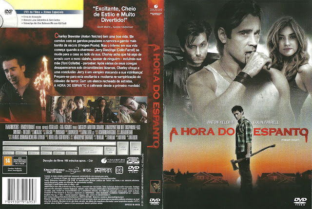 Capa DVD A Hora do Espanto (2011)