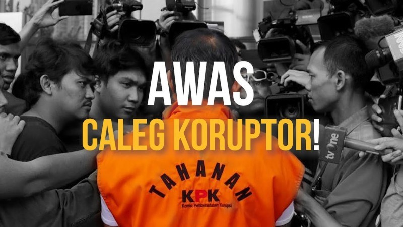 KPK: Jangan Pilih Caleg yang Pernah Korupsi