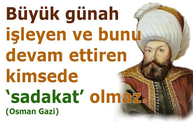 OSMAN GAZİ, osman gazi, osmanlı, ata, ced,