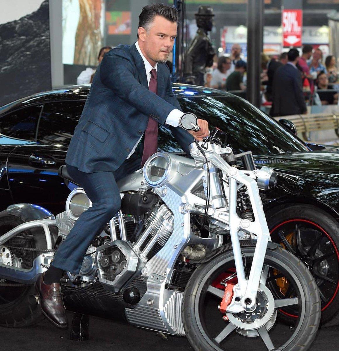 Josh Duhamel Wearing Really Nice Suit Again