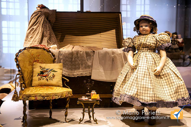 Museo della Bambola e del Giocattolo alla rocca di Angera