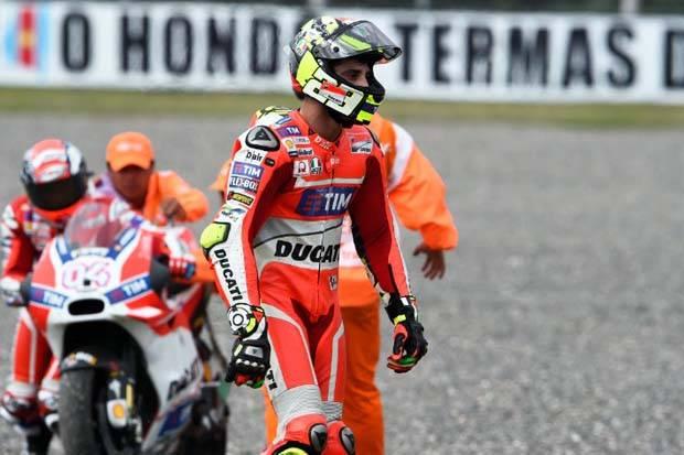 Berita Motogp Setelah lama berdiam, Iannone akhirnya bicara tentang komentar negatif Dovizioso