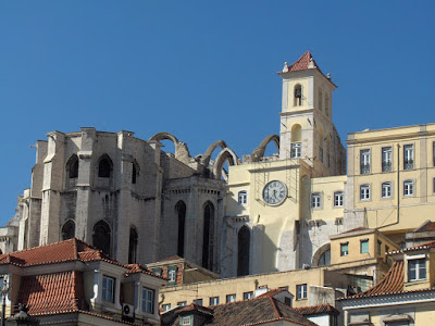 The Carmelite Convent in Lisbon where Cardoso work (ruined in the 1755 earthquake)