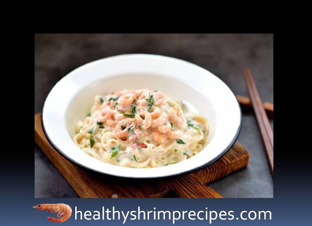 Udon noodles shrimp
