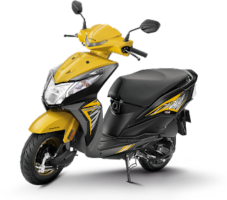 top 10 scooty in India, honda dio