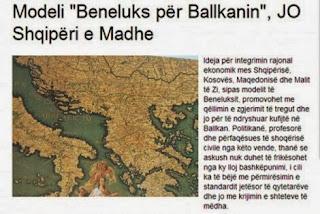 Το σχέδιο της «Μεγάλης Αλβανίας» προχωρεί