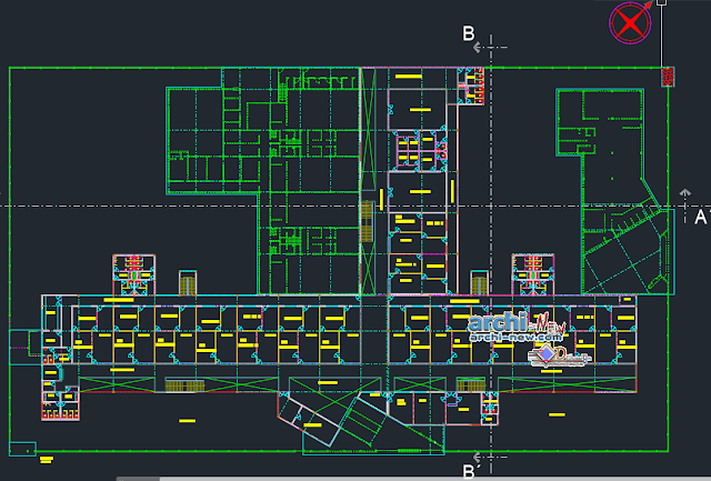 Justice house alto in AutoCAD