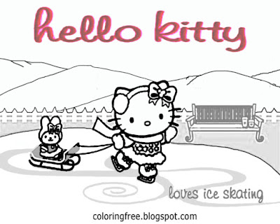 Black and white simple Hello kitty coloring worksheet free stunning printables for teenage daughters
