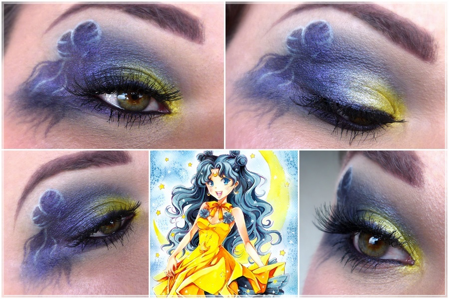 Sailor Moon Luna Make-up