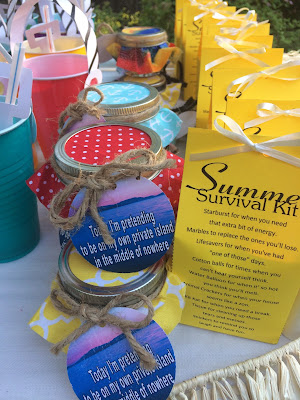 Summer Beach Party Favors by Everyday Parties