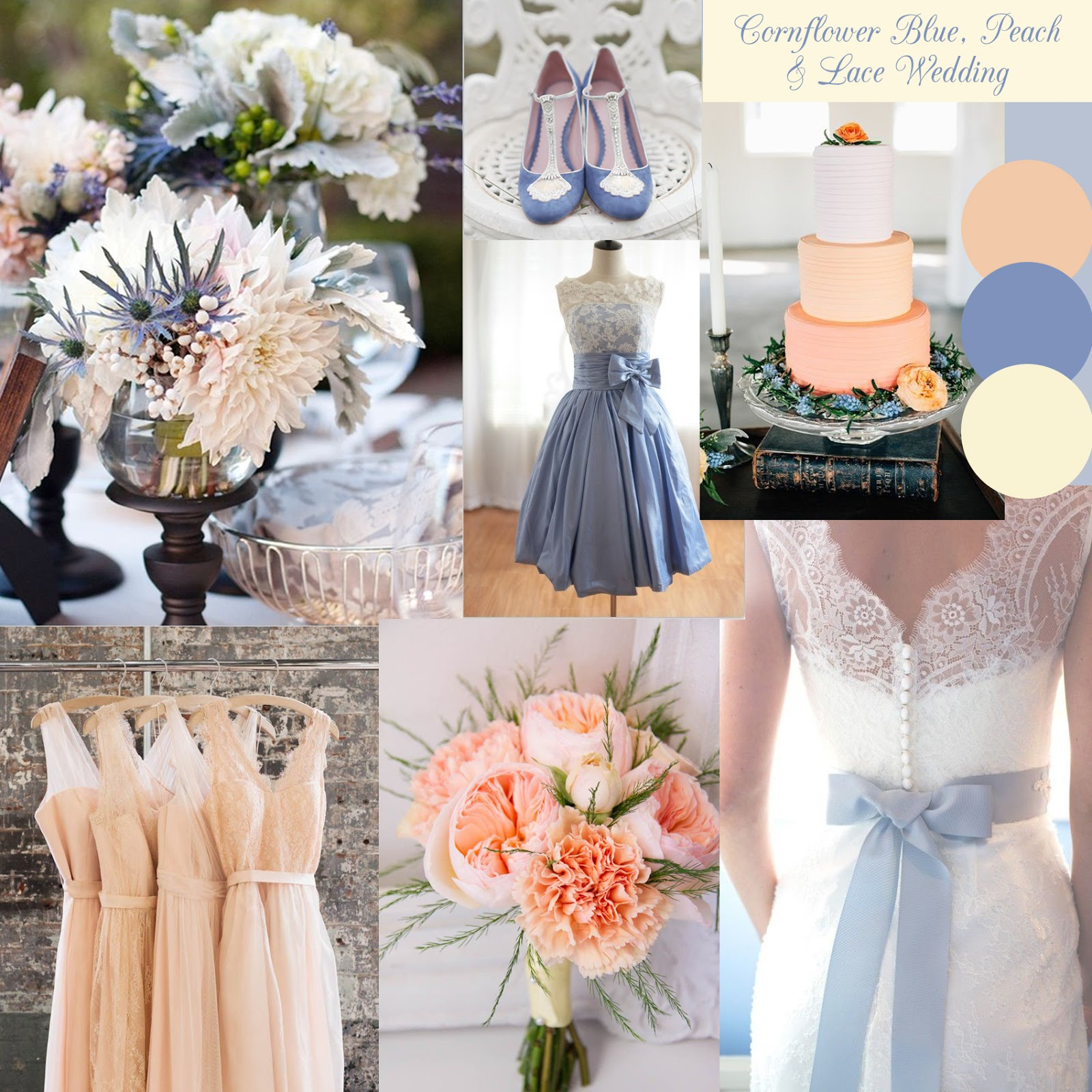 If It Eals To You For Your Wedding Incorporating Lots Of The Lace Details Reflect Stationery And A Gorgeous Pair Cornflower Blue Shoes