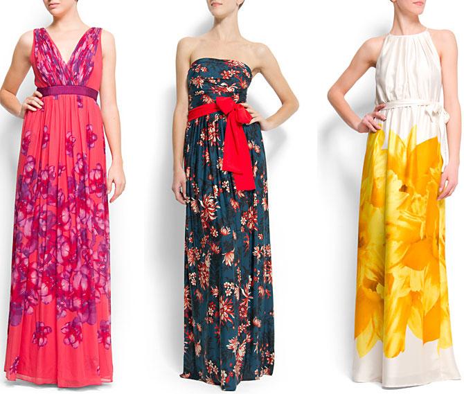 envío complementario materiales superiores en pies imágenes de Vestidos largos para una boda de tarde