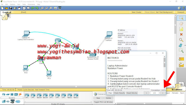 Dynamic Routing Cisco Packet Tracer