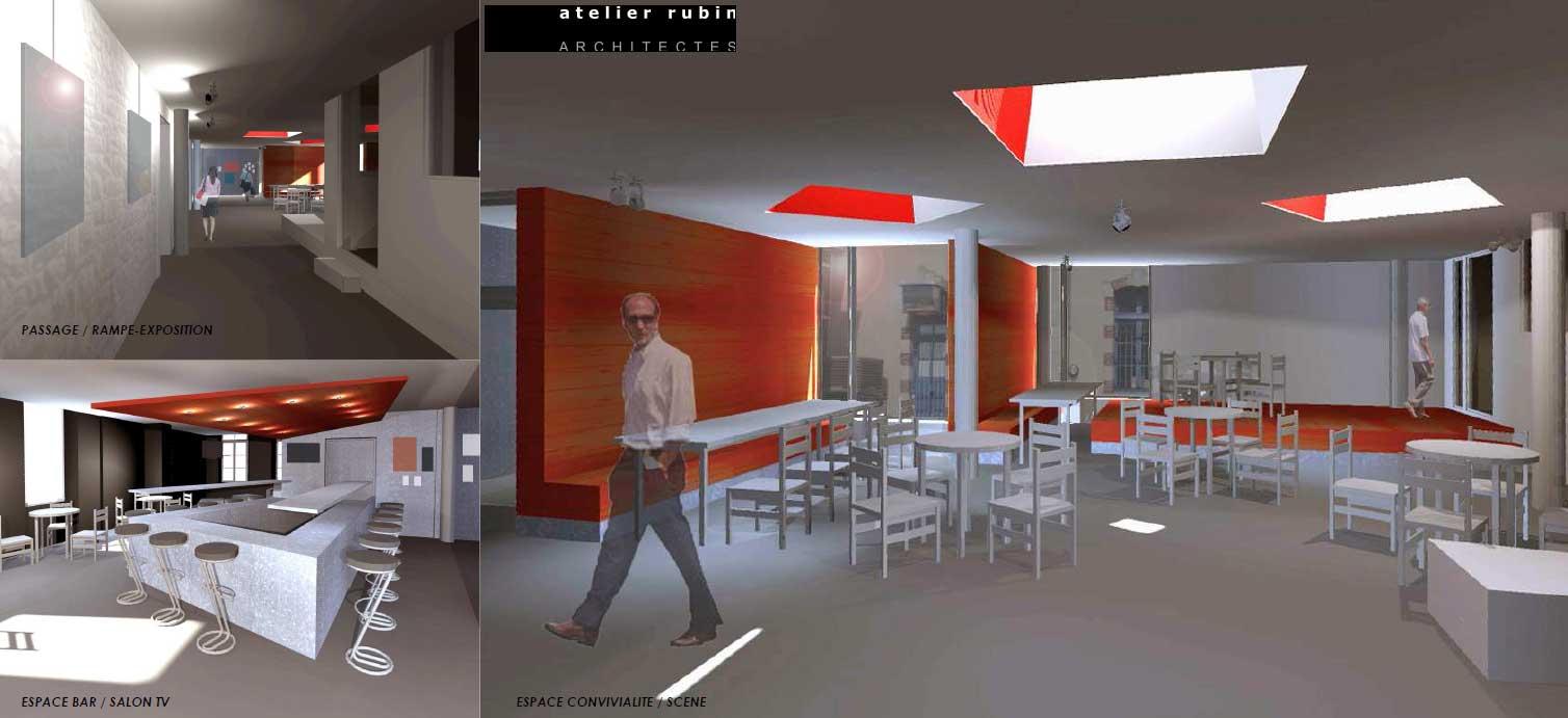 les actus de l 39 enssat nouveaut 2014 l 39 enssat 2 la caf t ria. Black Bedroom Furniture Sets. Home Design Ideas