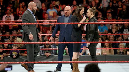 WWE Planning Ronda Rousey vs. Stephanie McMahon For WrestleMania 34?