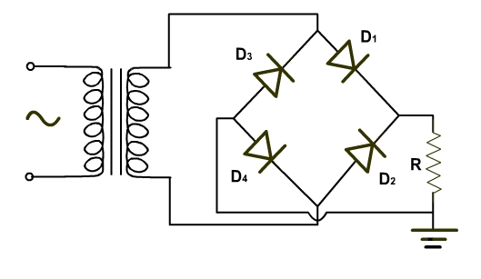 dc or ac dc coming out of a full wave rectifier electrical