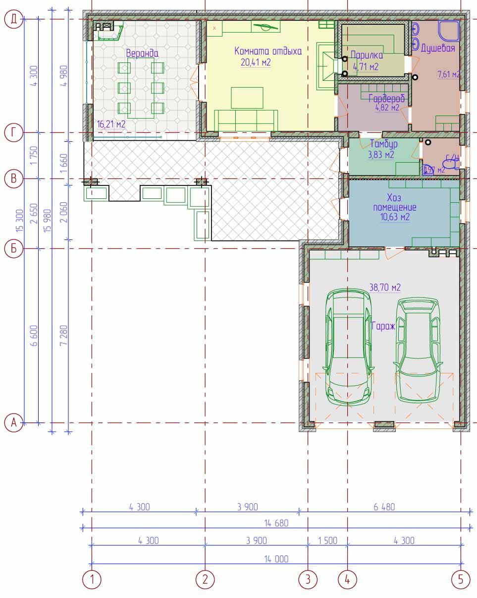 Готовые проекты гаражей домов купить гараж сборный металлический в нижнем новгороде