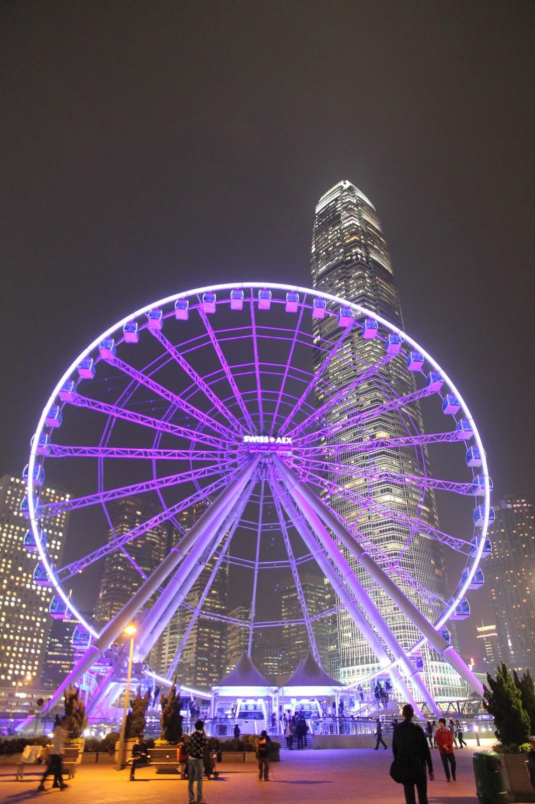 中環海濱摩天輪 - 中環特色景點 ,觀光好去處The Hong Kong Observation Wheel @ Hello Tasha :: 痞客邦 PIXNET