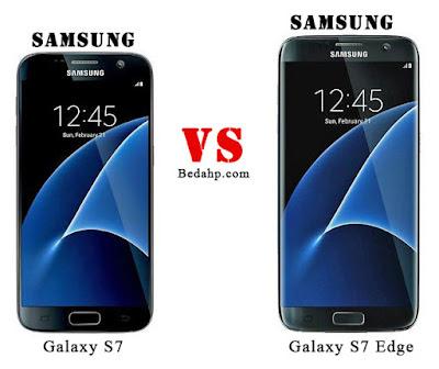 Perbedaan Samsung Galaxy S7 dan S7 Edge