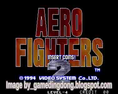 Aero Fighters 2 - Game Dingdong