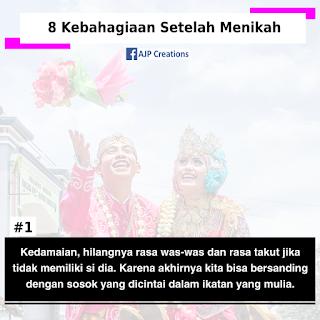 8 Kebahagiaan Setelah Menikah