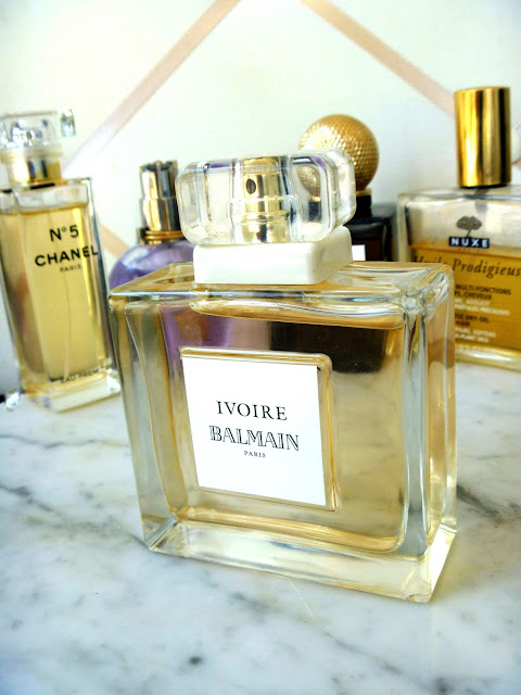 Balmain Ivoire Perfume Review on Gift Style Blog Gave That