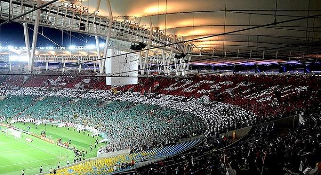 f9e15439fb Flu lança campanha inédita no Twitter para levar bom público ao Maracanã na  quarta
