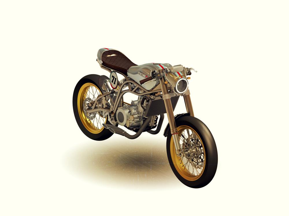 CCM Spitfire Cafe Racer - MS+ BLOG