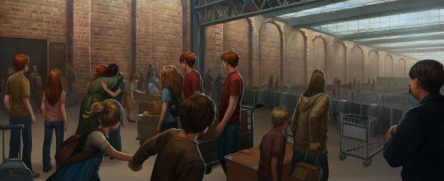 """HP e il Calice di Fuoco: """"L'inizio"""" a King's Cross"""