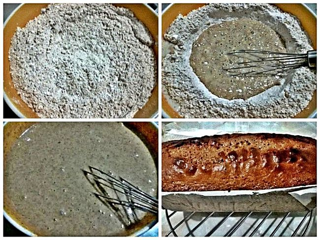 Preparación del pan de especias
