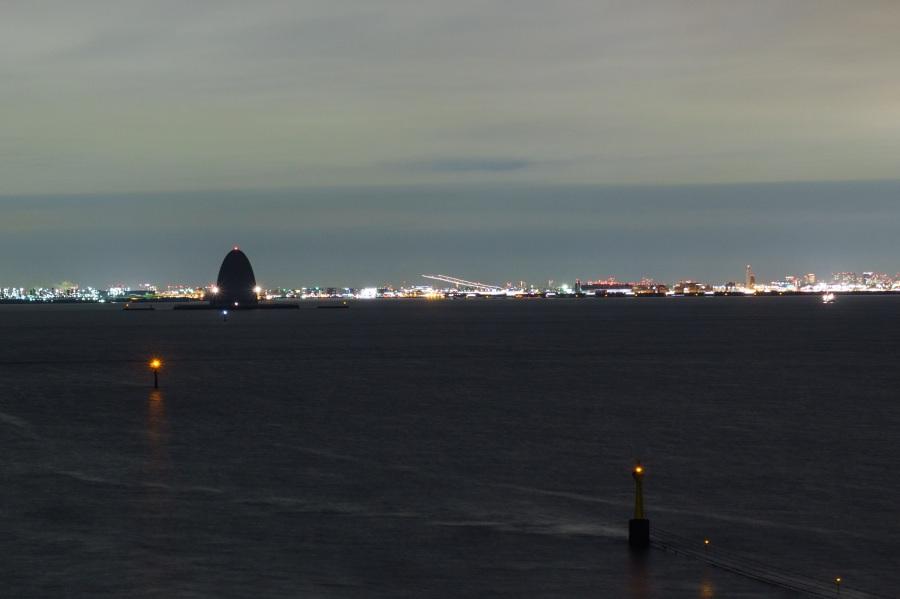 海 ほたる 夜景