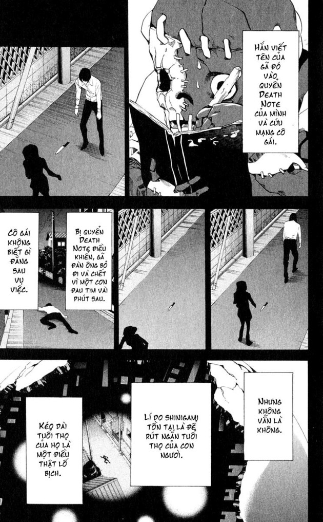 Death Note chapter 027 trang 14