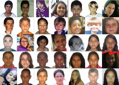 criancas desaparecidas rio grande do sul brasil