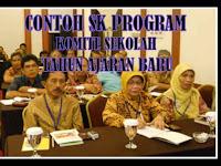Download Contoh SK Program Komite Sekolah/Madrasah Tahun Ajaran Baru