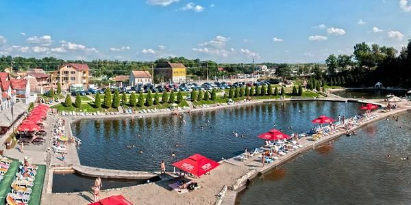 Strand in Ocna Sibiului
