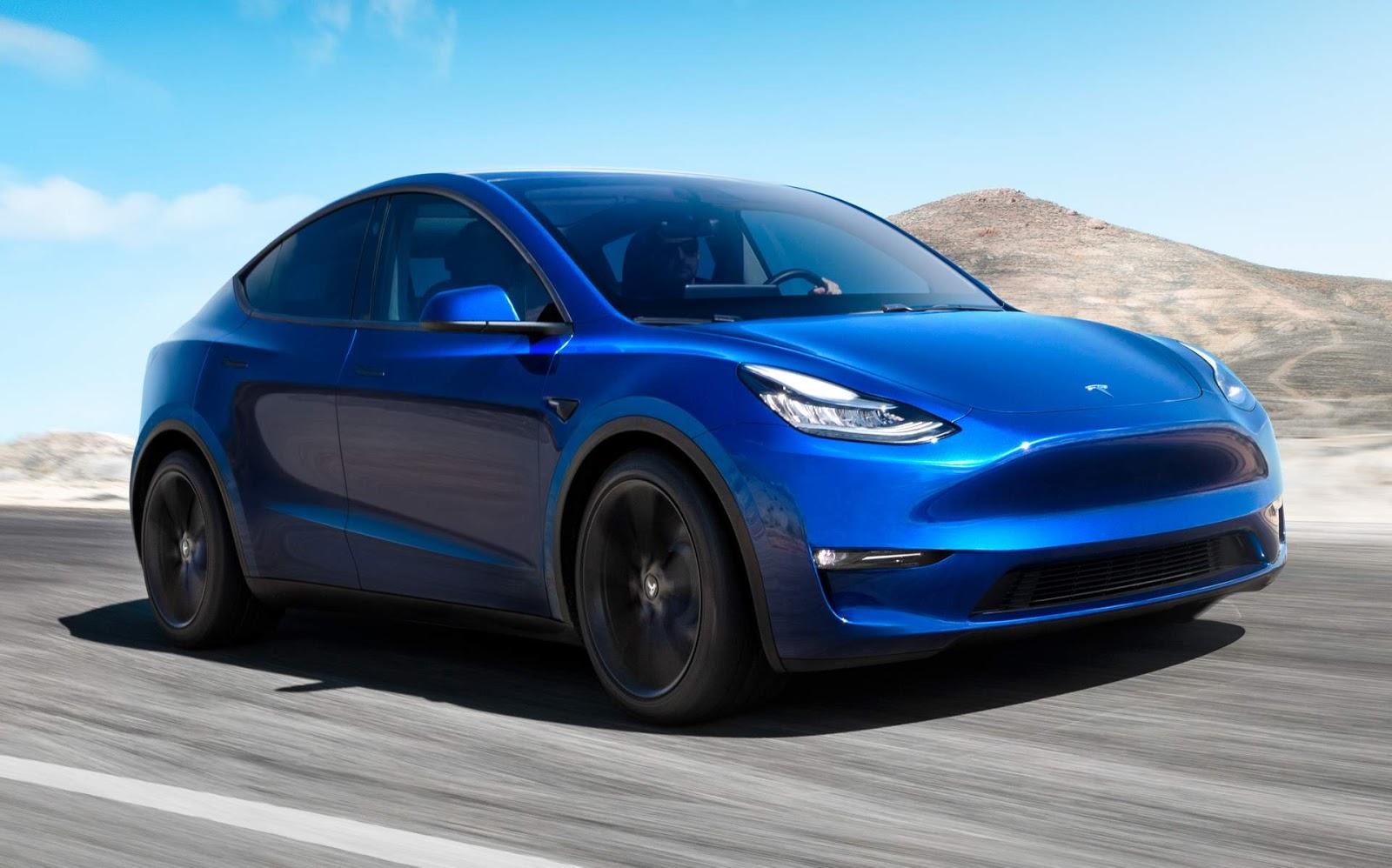 Tesla lança o Modelo Y, seu primeiro SUV compacto  CAR.BLOG.BR