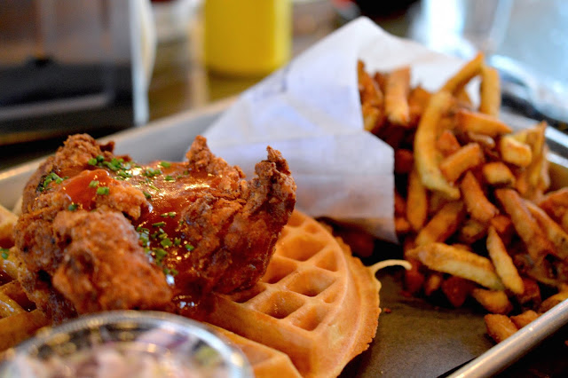 the dirty bird chicken and waffles toronto