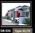 Desain Rumah Tipe 45 - Jakarta Selatan