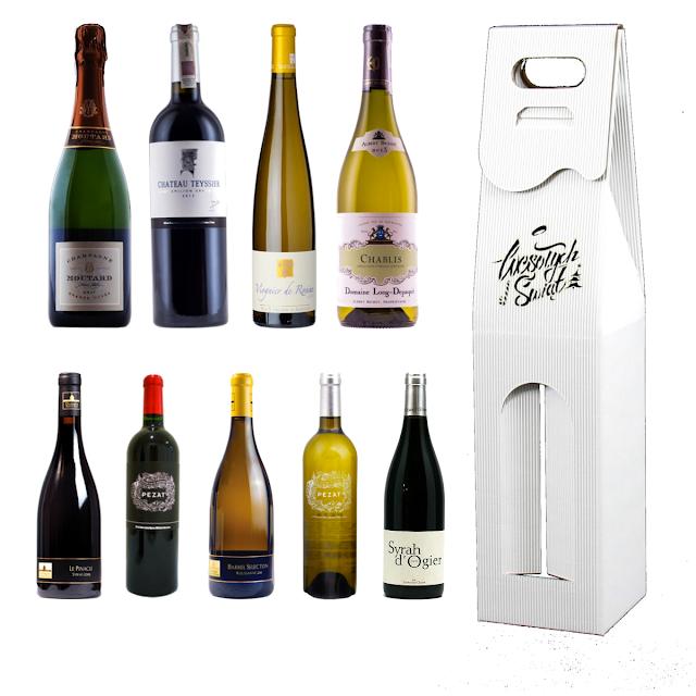 Pudełko na wino francuskie