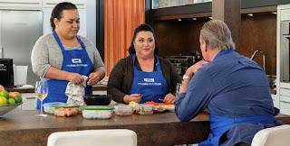 Falete con su madre Isabel cocinando con Bertin Osborne