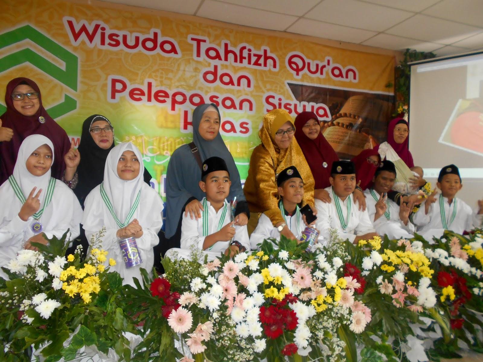 Pelepasan Siswa I Kelas Vi Wisuda Tahfidz Sekolah Tahfizh Plus Khoiru Ummah Ciledug
