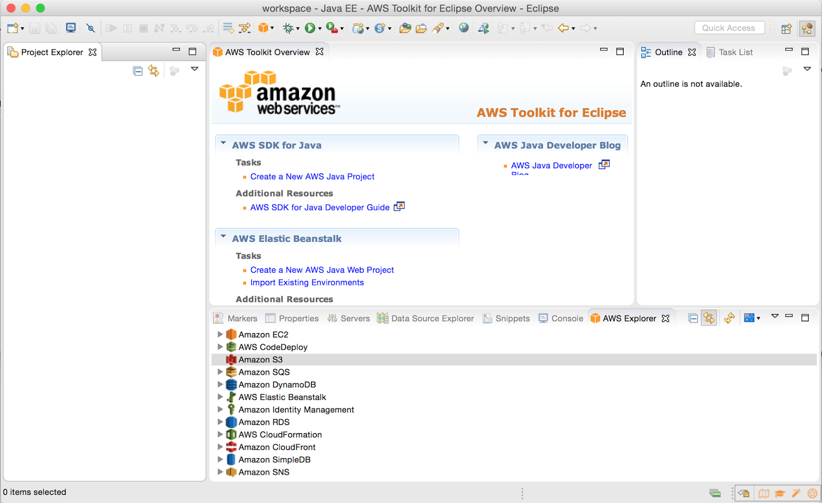 How to setup AWS SDK for Java ( Mac OSX ) | vCloudyNet