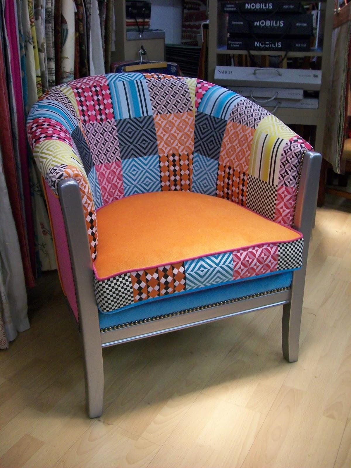 l 39 fauteuil confort tonneau relooker. Black Bedroom Furniture Sets. Home Design Ideas
